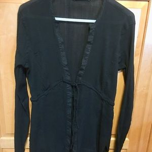 Athleta Black Crepe Cover Up - Women's Size M